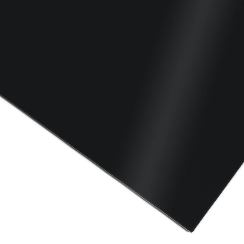 Panel PVC espumado Negro