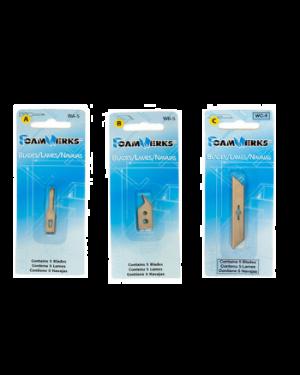 Recambio cúter cuchilla giratoria – pack 2 uds.