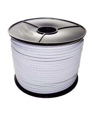 Cordón elástico Ø8 mm. blanco