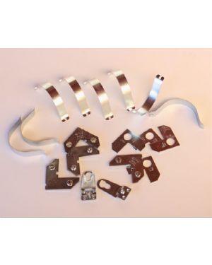 Kit montaje de aluminio - 100 unidades