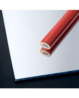 Plancha de Metacrilato Plata Espejo Extrusión 3mm - 305X205cm