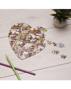 Puzzle magnético corazón 75 piezas 19x19