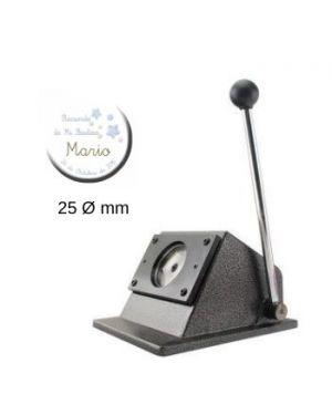 Troqueladora para chapas redondas de 25mm.